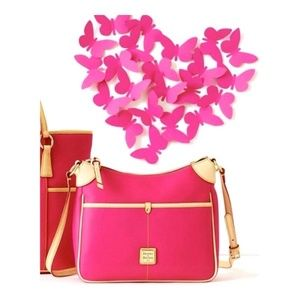 Dooney & Bourke Kimberly Hot Pink Hand Bag